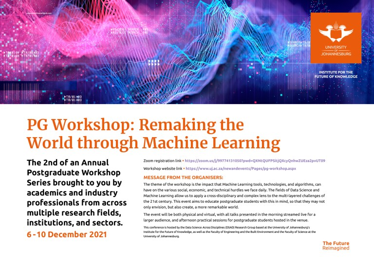 2nd Annual PG Workshop: Remaking the World through Machine Learning