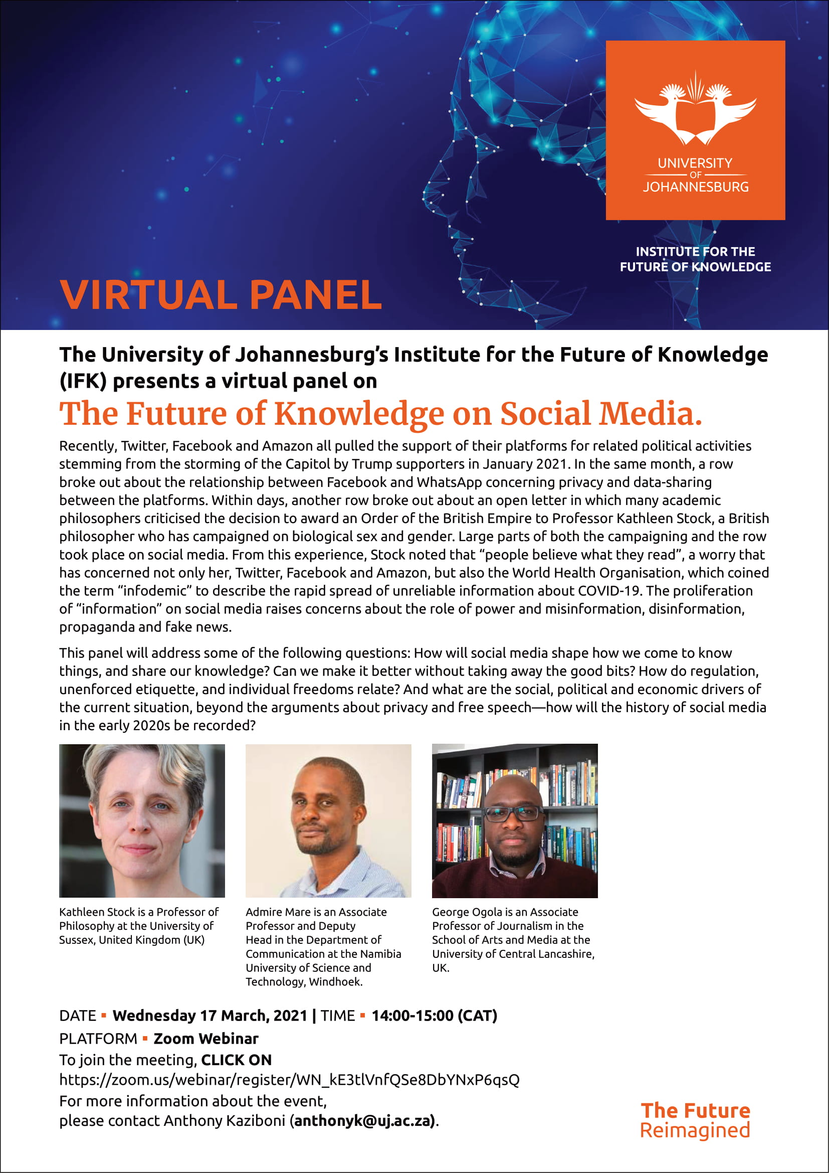 Panel Discussion: The Future of Knowledge on Social Media