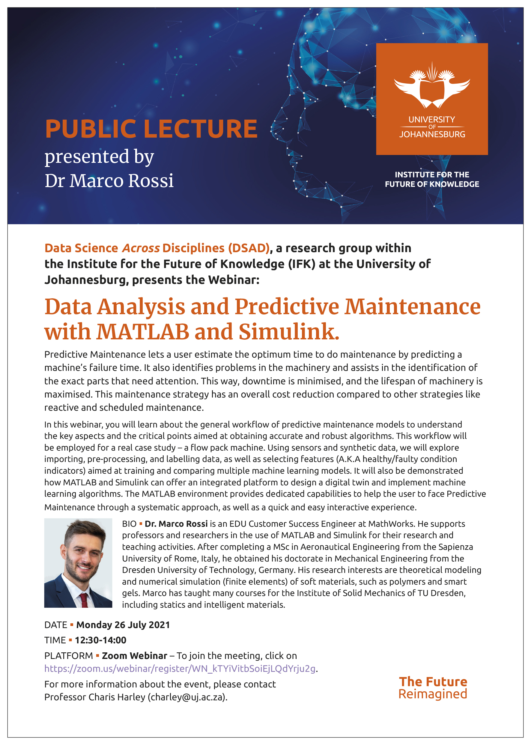 Webinar: Data Analysis and Predictive Maintenance with MATLAB and Simulink